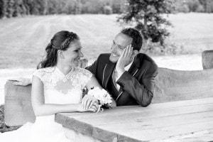 Fotoshoot bruidspaar op Landgoed de Biestheuvel
