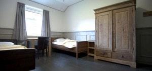 Sfeervolle tweepersoons slaapkamers op Landgoed de Biestheuvel