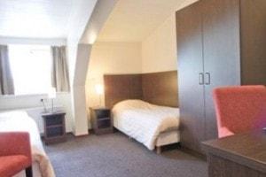 Slaapkamer het Voorhuis op Landgoed de Biestheuvel