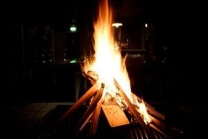 Vuur maken Landgoed de Biestheuvel