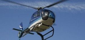 Helikoptervlucht op Landgoed de Biestheuvel