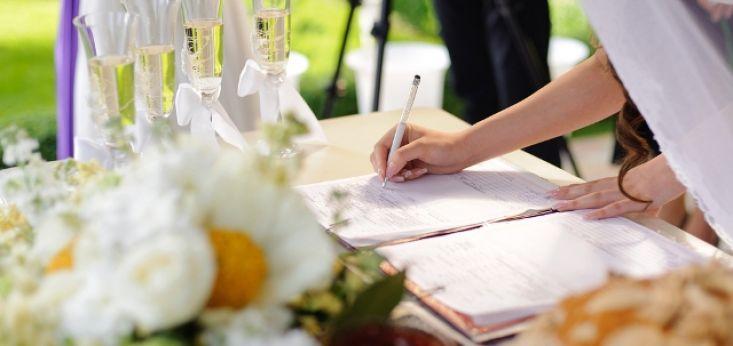 Idylische huwelijksceremonie op Landgoed de Biestheuvel