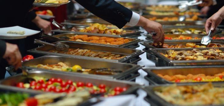 Huisgemaakte koud en warm buffet op Landgoed de Biestheuvel
