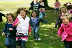 Schoolkamp bij Landgoed de Biestheuvel