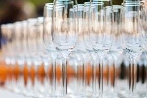 Proosten op een feest op Landgoed de Biestheuvel
