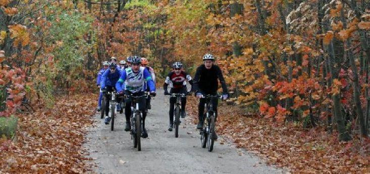 ATB fietsen op Landgoed de Biestheuvel