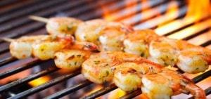 Barbecue tijdens bedrijfsuitje op Landgoed de Biestheuvel