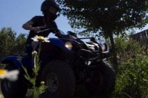 Quad rijden op Landgoed de Biestheuvel