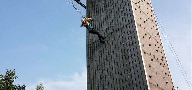Giant Swing op Landgoed de Biestheuvel