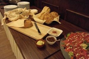 Heerlijk buffet bij Landgoed de Biestheuvel