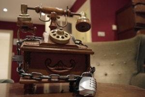 Telefoon Escape Room Brabant bij Landgoed de Biestheuvel