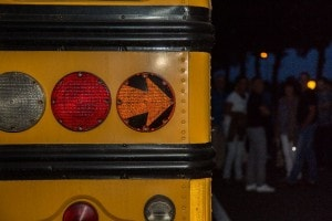 Amerikaanse schoolbus Landgoed de Biestheuvel