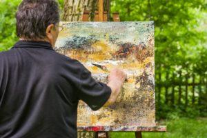 Schilderen Landgoed de Biestheuvel
