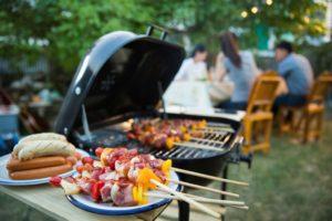 Barbecue bij Landgoed de Biestheuvel