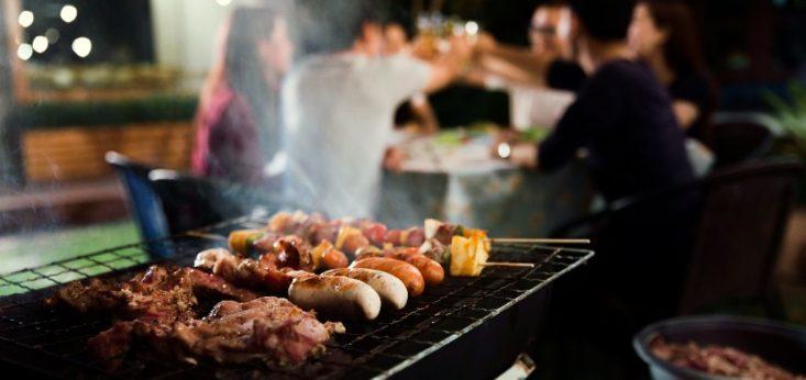 Barbecue op Landgoed de Biestheuvel