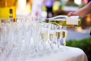 Champagne bij Landgoed de Biestheuvel