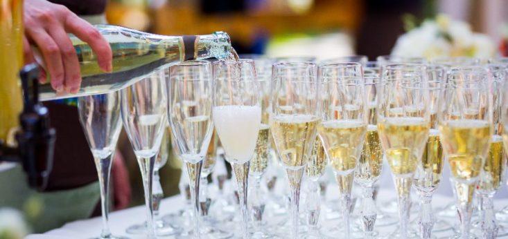 Champagne op Landgoed de Biestheuvel