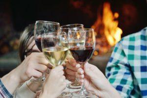 Lekker opwarmen in je accommodatie van Landgoed de Biestheuvel