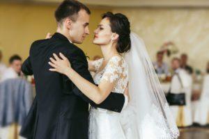 Bruidspaar bij Landgoed de Biestheuvel