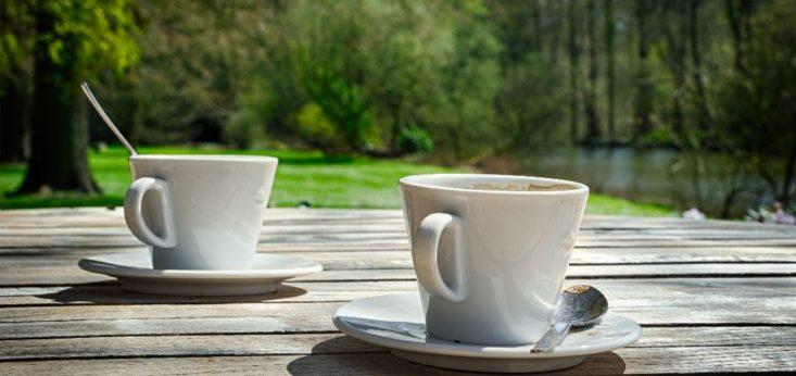 Koffie to-go bij Landgoed de Biestheuvel