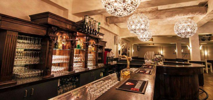 De bar van de Herberg bij Landgoed de Biestheuvel