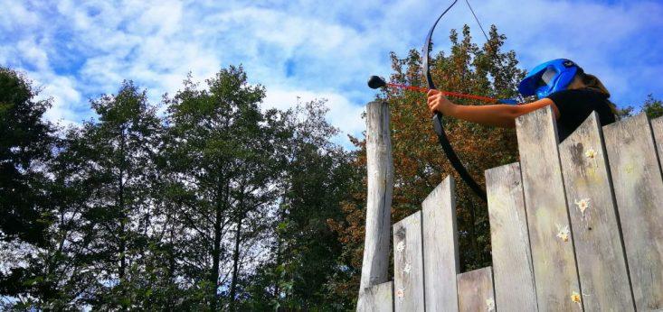 Archery tag op Landgoed de Biestheuvel