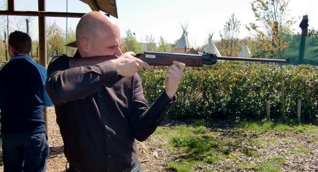 Buks schieten op Landgoed de Biestheuvel