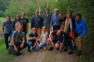 Team Expeditie Jones op Landgoed de Biestheuvel