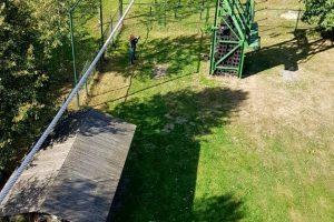 Abseilen op Landgoed de Biestheuvel