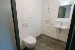 Privé badkamer op Landgoed de Biestheuvel