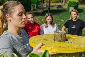 Teambuilding activiteit op Landgoed de Biestheuvel