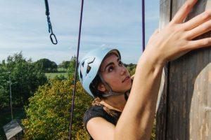 Wandklimmen op Landgoed de Biestheuvel