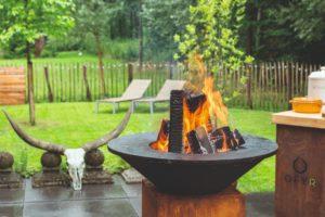OFYR barbecue bij Landgoed de Biestheuvel