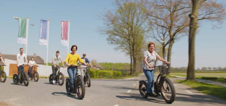 Kickbike Fat Max op Landgoed de Biestheuvel