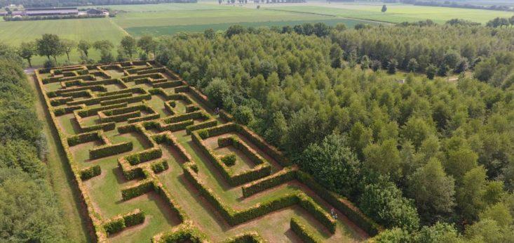Doolhof Landgoed de Biestheuvel
