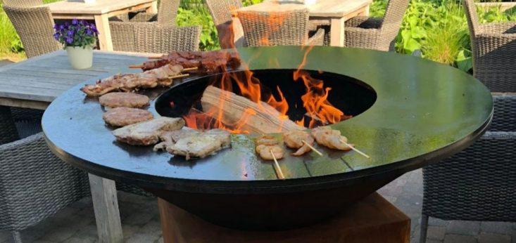 Barbecueën op Landgoed de Biestheuvel